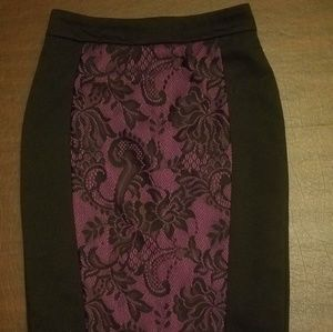 !!40% OFF!! Laced Pencil Skirt